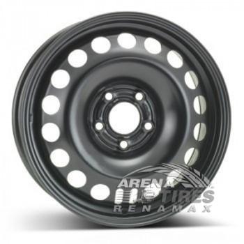 ALST (KFZ) 9247 6.5x16 5x105 ET39 DIA56.6 Black