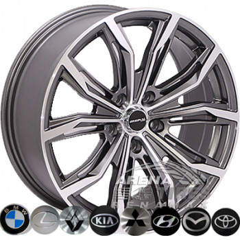Zorat Wheels 2747 7.5x17 5x114.3 ET42 DIA67.1 MK-P