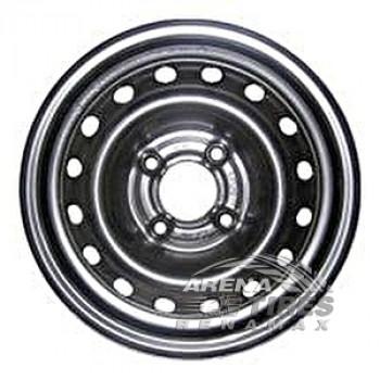 Skov Chevrolet Aveo 5.5x14 4x100 ET45 DIA56.6 Black